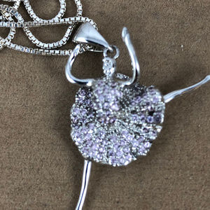 Gen Emporium Accessories - Ballerina 925 silver with over 75 Pink Sapphires